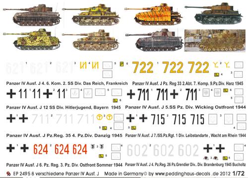 1//72 Deutsche Panzer Russlandfeldzug No 2 1361